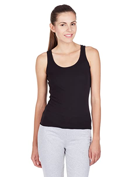 54e197cfcf6e1 Image Unavailable. Image not available for. Colour  Jockey Women s Cotton  Racerback Tank Top
