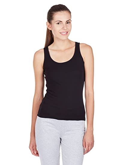 7d6bb11409302 Jockey Women s Cotton Racerback Tank Top  Amazon.in  Clothing   Accessories