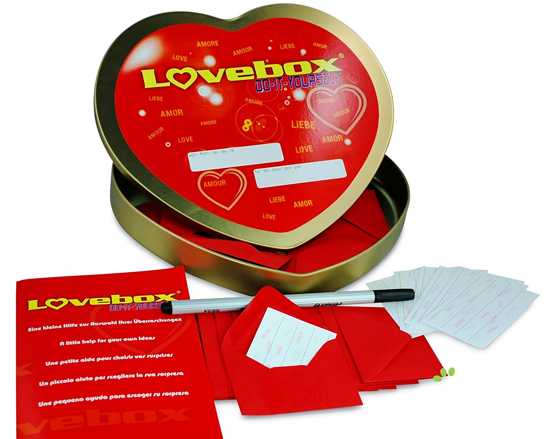 Liebesbox Lose Ideen.Lovebox Gutscheindose 52x Liebeslose Fur Paare Fur Jede Woche Des Jahres Als Geschenkidee