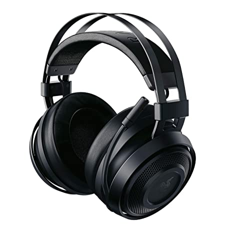 Razer Nari Essential - Auriculares Gaming inalámbricos, Color Negro