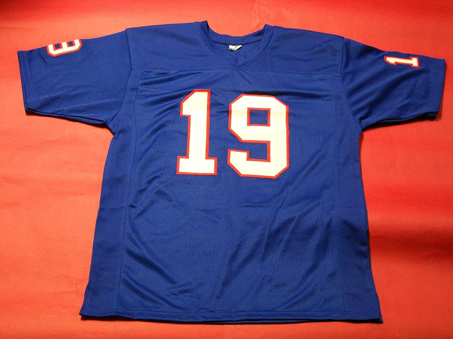 huge selection of 2ffdc 76b59 ERIC DICKERSON AUTOGRAPHED SMU JERSEY JSA W PONY EXPRESS ...