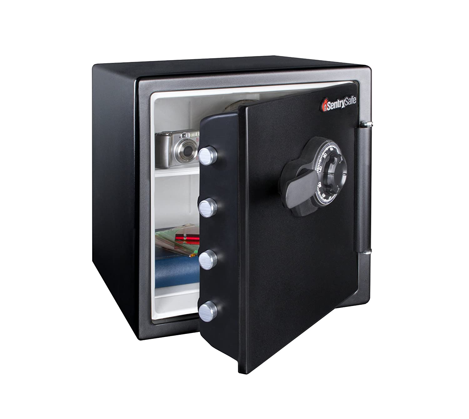 SentrySafe Fire and Water Safe, Extra Large Combination Safe, 1.23 Cubic  Feet, SFW123CS - - Amazon.com