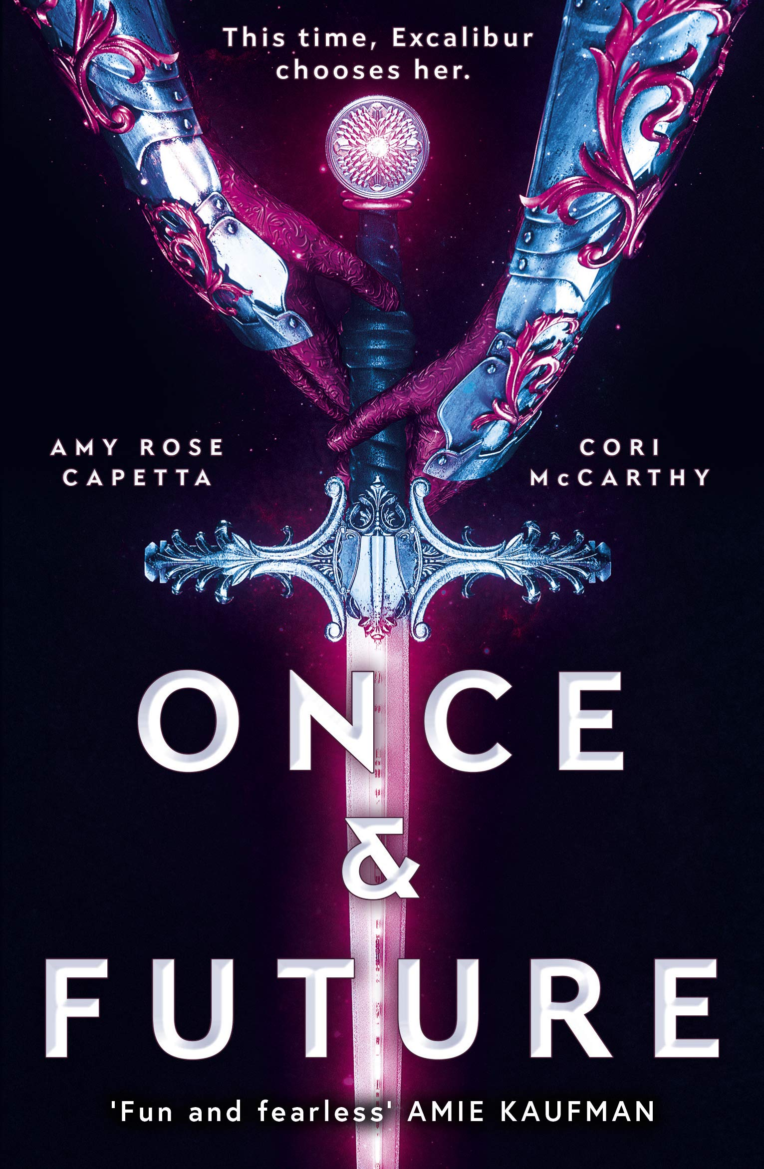 Once & Future: Amy Rose Capetta, Cori McCarthy: 9781786076540: Amazon.com:  Books