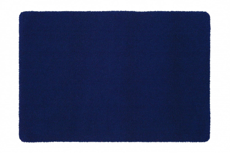 Rhomtuft Badematte Aspect, Farbe  kobalt, Größe  70x120cm