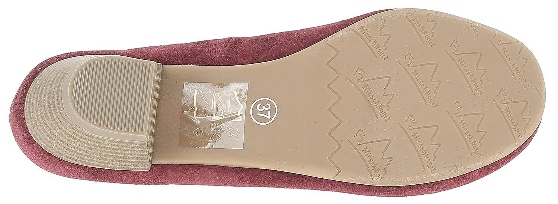 HIRSCHKOGEL 3003401 by Andrea Conti Damen 3003401 HIRSCHKOGEL Pumps Rot (Bordo) dd130b