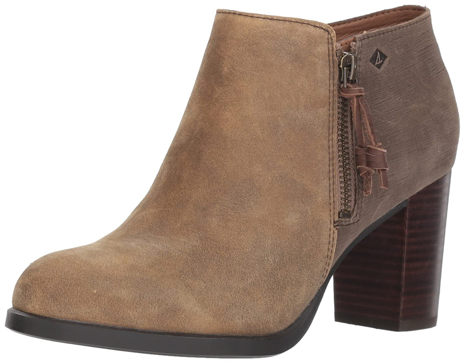 Sperry Top-Sider Women's Dasher Lille Ankle Bootie B019X5C6IQ 5.5 B(M) US|Brown