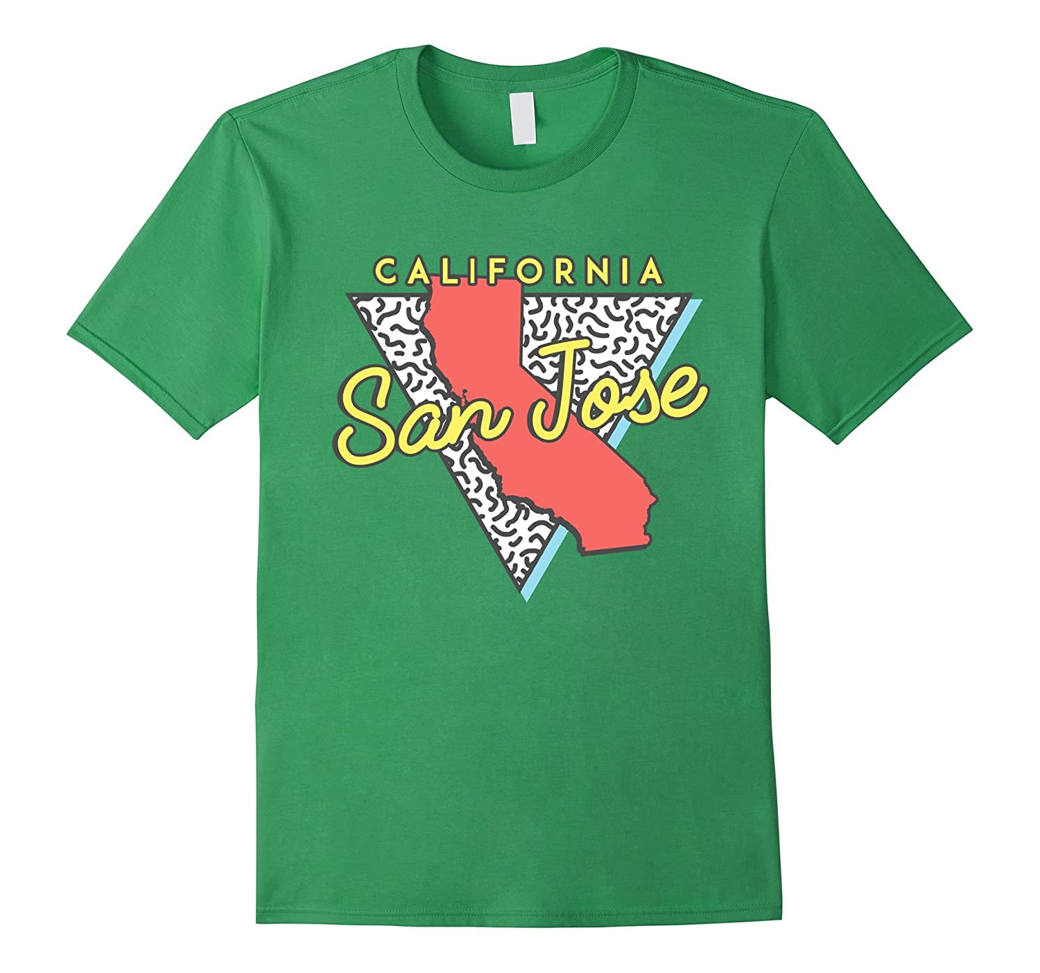 san jose california t shirt retro design ca souvenirs vaci vaciuk. Black Bedroom Furniture Sets. Home Design Ideas