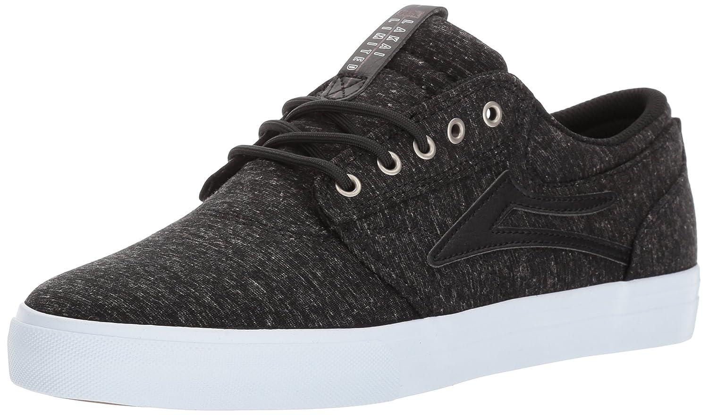 Lakai Griffin Skate Shoe B01N6QG12U 9.5 M US|Black Textile