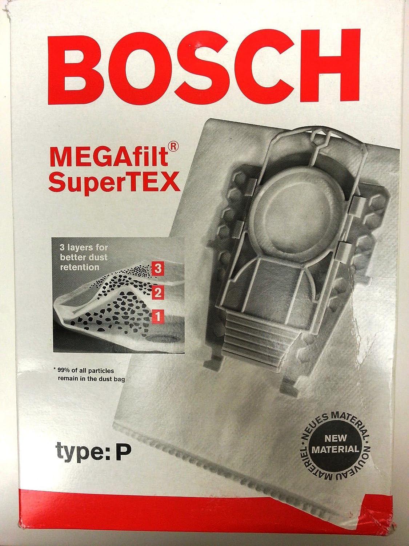 Bosch Megafilt SupertexタイプP真空バッグ   B01693JG5Q