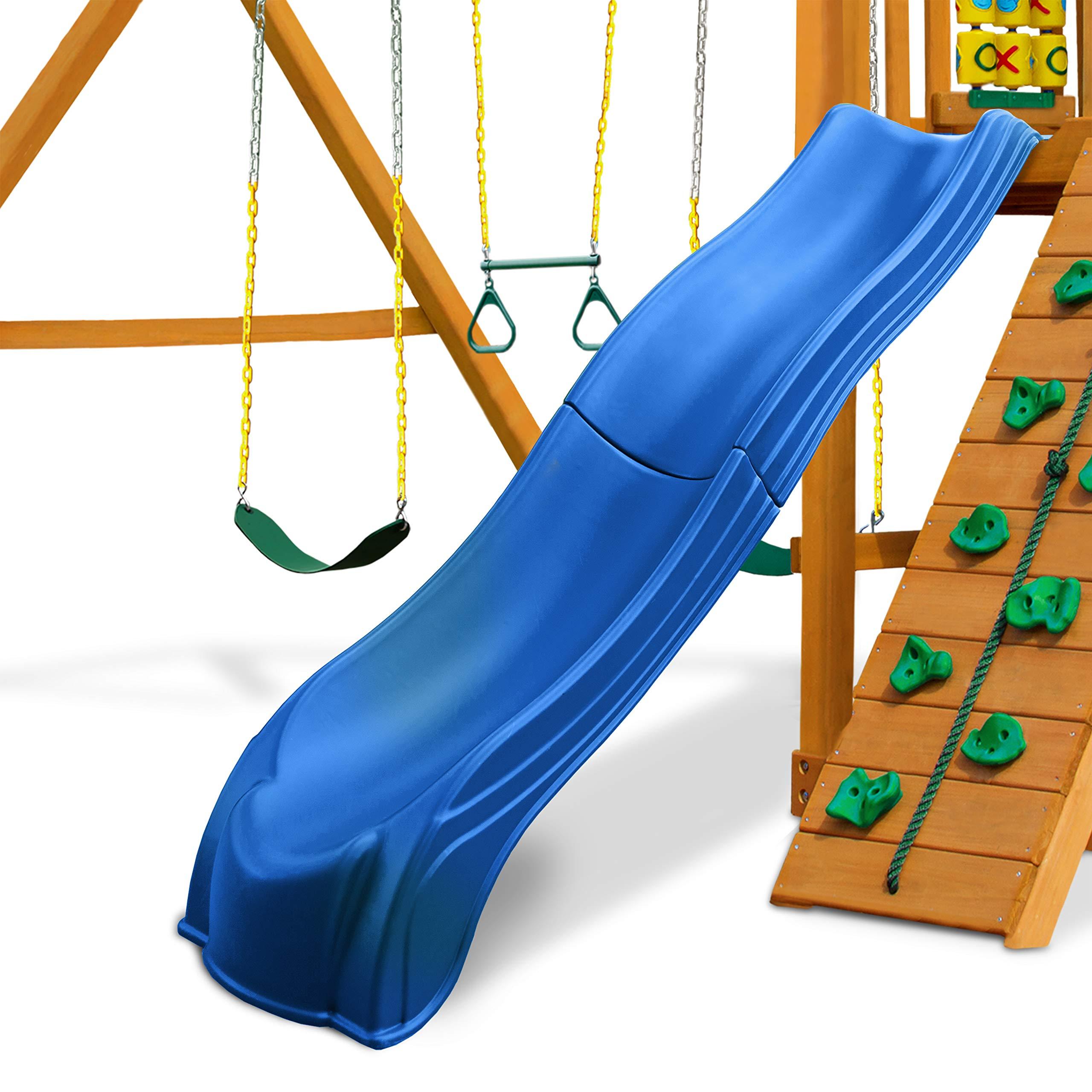 Swing-N-Slide WS 5032 Olympus Wave Slide 2 Piece Plastic Slide for 5' Decks, Blue by Swing-N-Slide (Image #7)
