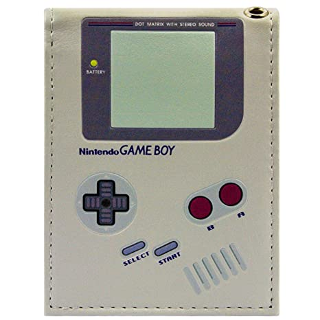8b459b86b5 Nintendo Game Boy Handheld originale Grigio portafoglio: Amazon.it ...
