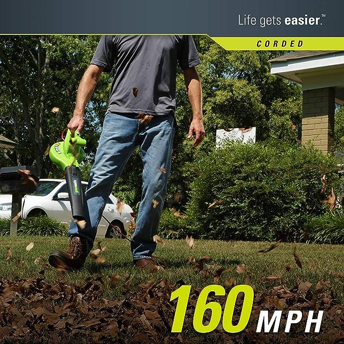 Amazon.com : iSote Sopladora De Aire para Jardin Soplador De ...