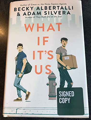 New SIGNED WHAT IF ITS US by Becky Albertalli (writer of ...