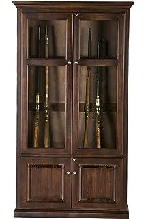 Eagle Savannah 15 Gun Cabinet, Concord Cherry Finish