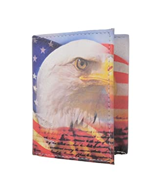 American Eagle Credit Card Sign In >> Men S Genuine Leather American Eagle Credit Card Id Holder