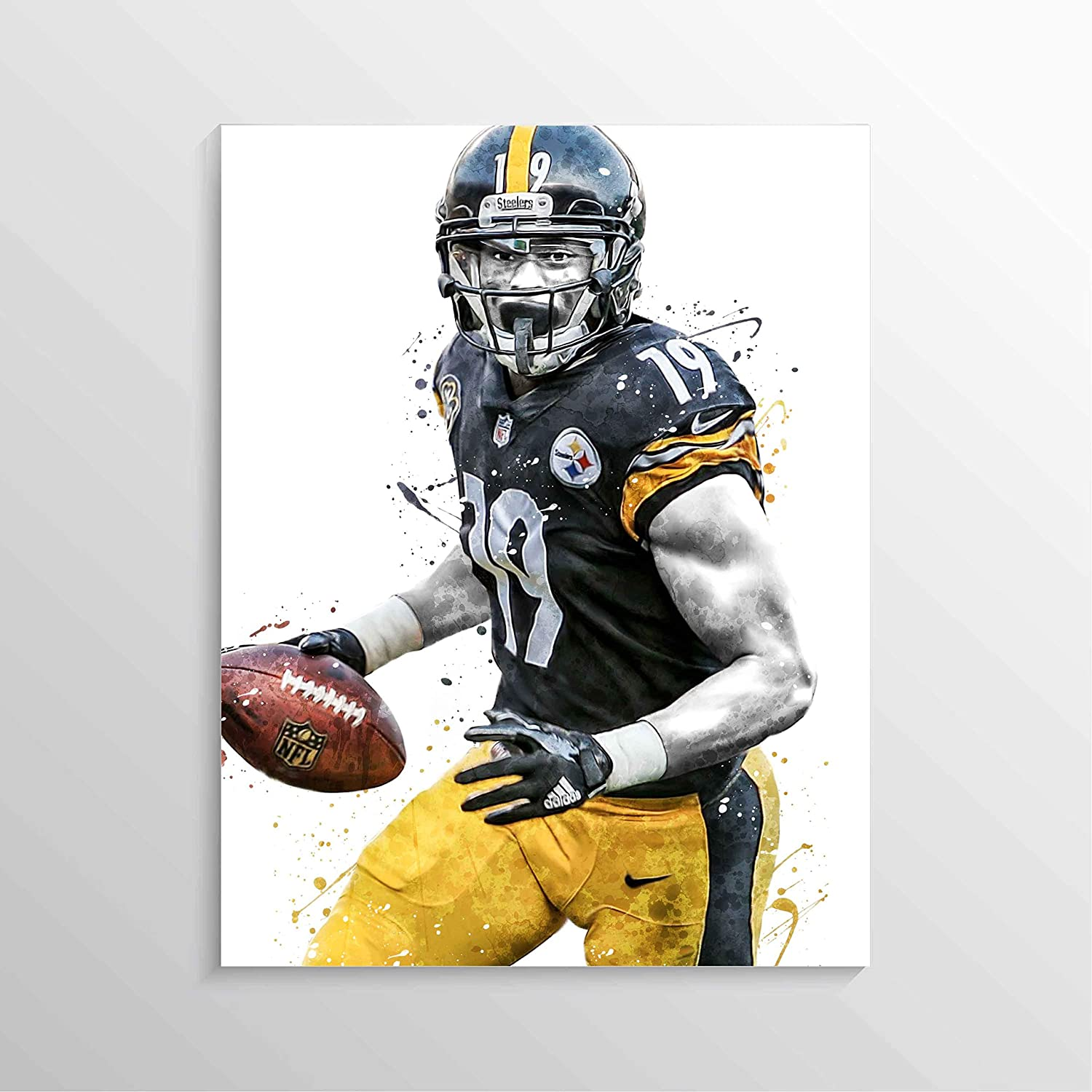 JuJu Smith-Schuster Pittsburgh Steelers Poster FREE US SHIPPING