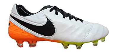 hot sale online 1e035 9da65 nike tiempo legend VI FG mens football boots 819177 soccer cleats (US 8,  white