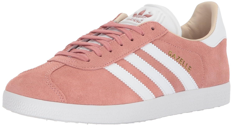 adidas Originals Gazelle W Sneaker B071Z89SBS 6.5 B(M) US|Ash Pearl/White/Linen