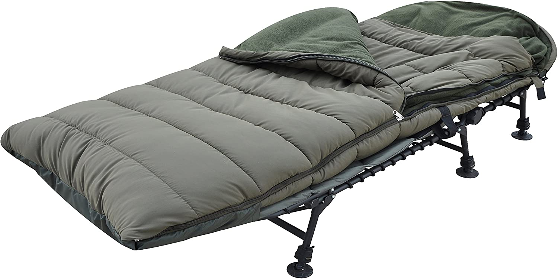 ABODE® Saco de Dormir de 5 Estaciones de Piel de melocotón Hueca, Doble Concha, para Pesca de Carpas: Amazon.es: Deportes y aire libre