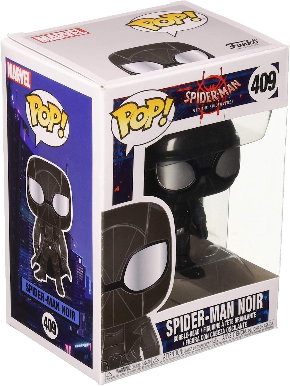Spider-Man Noir Figure Animated Spider-Man Funko Pop No 406