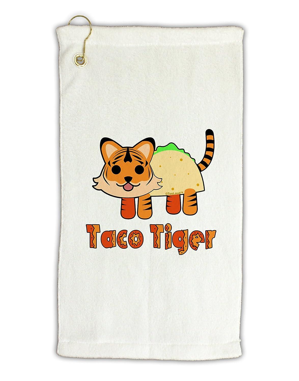 TooLoudキュートTaco TigerテキストMicro Terry Grometゴルフタオル11