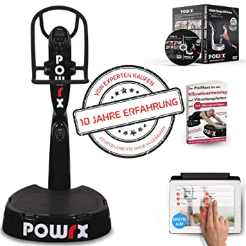 Powrx - Plataforma vibratoria Active Evolution 4.0 con paquete de ...