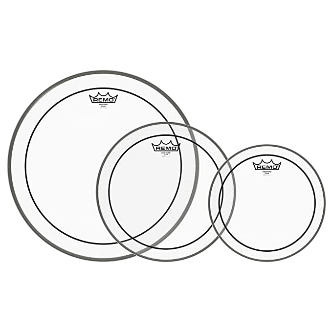 Amazon Com Remo Pp 1180 Ba Ambassador Clear Tom Drumhead Pack