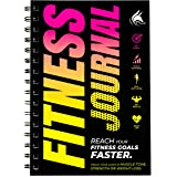 Clever Fox Fitness & Workout Journal/Planner Daily Exercise Log Book to Track Your Lifts, Cardio, Body Weight Tracker…