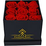 Premium Roses| The Roses can Last 1year (Roses in the Box, Best Gift for Her, Anniversaries, Birthdays & Valentines Day