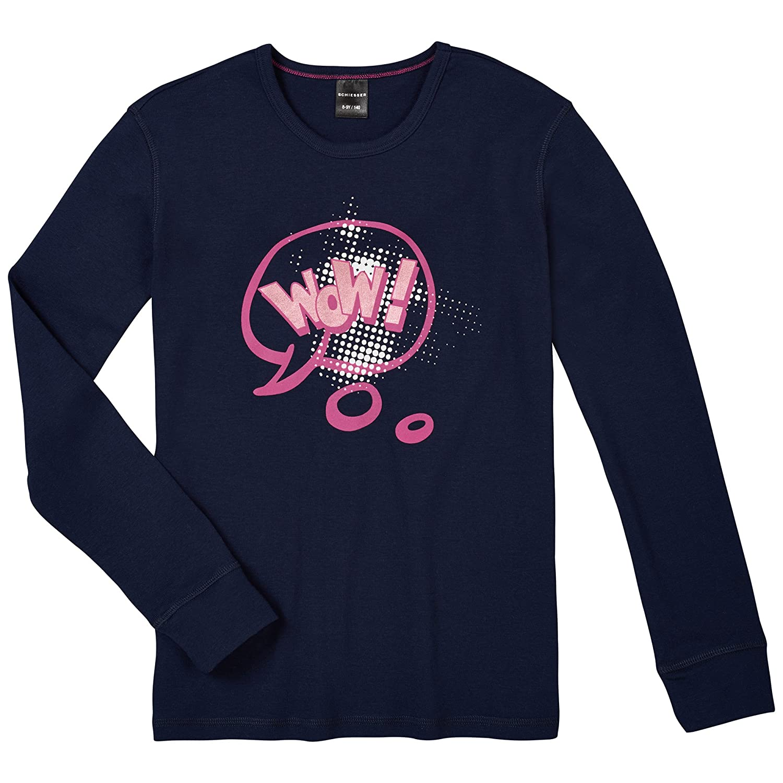 Schiesser Girl's Shirt 1/1 Pyjama Top Schiesser AG 143317-804