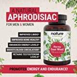 Horny Goat Weed for Women & Men 60 Capsules with