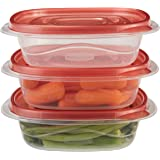 Rubbermaid TakeAlongs 2.9 Cup Sandwich Food Storage Container, 4 Pack