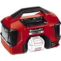 Einhell Compresor Híbrido Pressito Power X-Change (Li-Ion, con cable de corriente o batería recargable; incluye conjunto de inflado de 3 piezas; sin batería ni cargador).