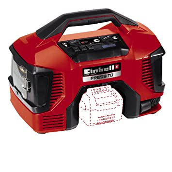 Einhell Compresor Híbrido Pressito Power X-Change (Li-Ion, con cable de