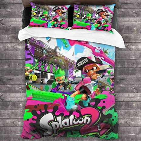 """Tangsjt 3 Piece Bedding Set 86/""""x70,Steven Universe Suitable for Children in Adult beds or Dormitories,Super Soft Duvet Cover with 2 Pillowcases"""