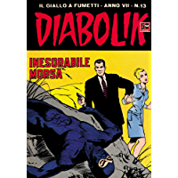 DIABOLIK (115): Inesorabile morsa (Italian Edition)
