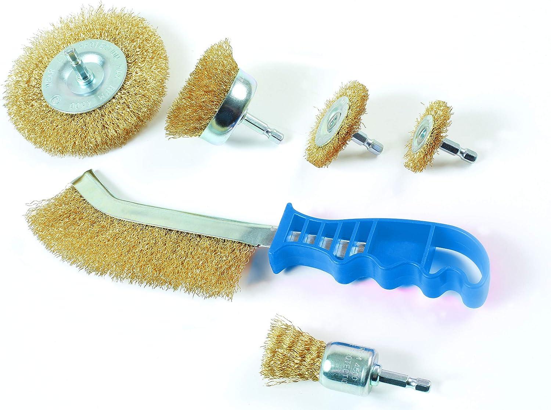 Laser Tools 7718 Wire Brush Set 6pc