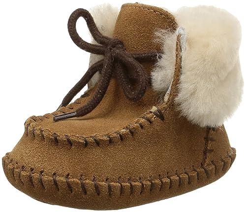 UGG Sparrow, Zapatos de Bebé para Bebés, Marrón (Chestnut), 0-6 Meses EU: Amazon.es: Zapatos y complementos