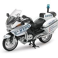 Newray 44073 - Motocicleta Escala 1:12, NYPD BMW