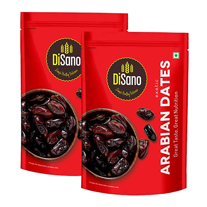 DiSano Arabian Premium Dates, 200g (Pack of 2)