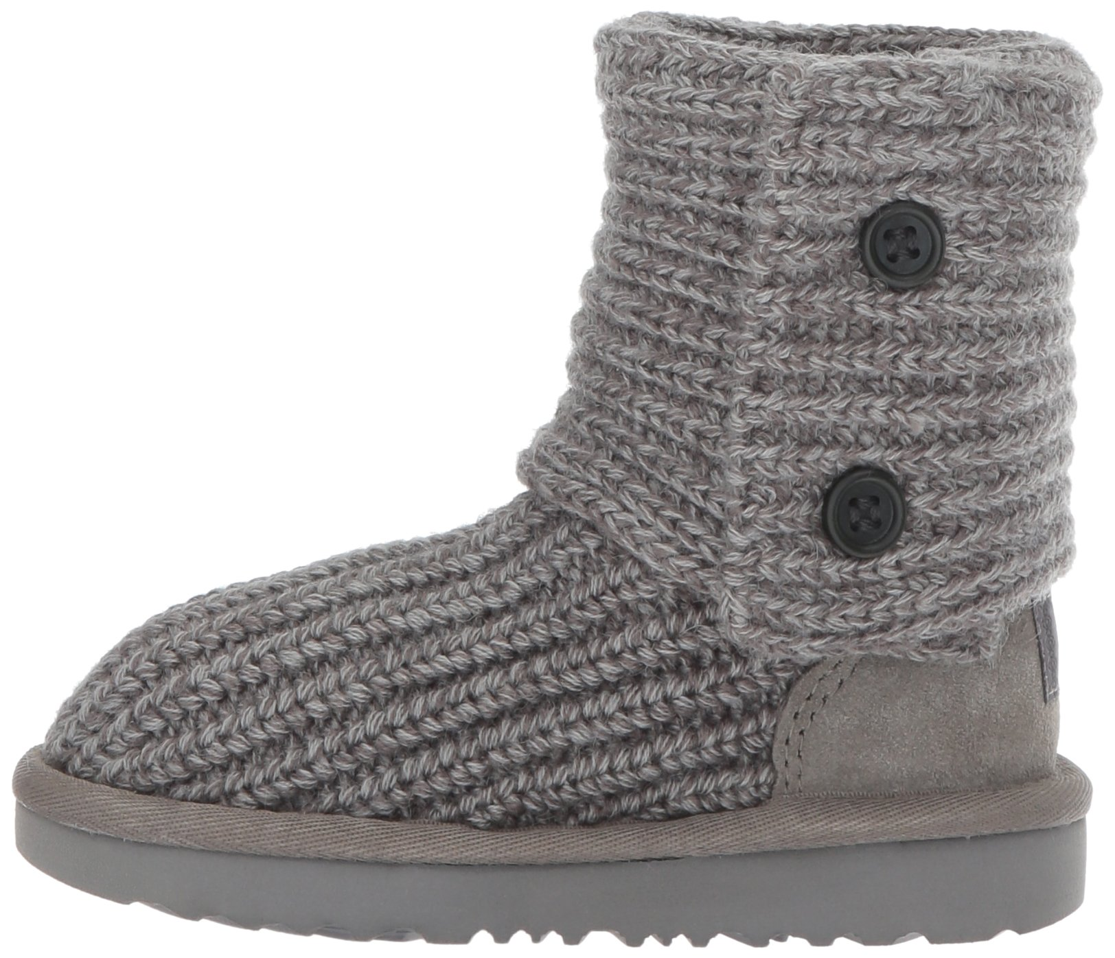 UGG Girls K Cardy II Pull-on Boot, Grey, 13 M US Little Kid by UGG (Image #5)