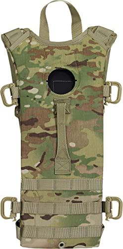 Mcguire Gear Tactical MOLLE Hydration Pack, Holds 3 Liter Bladder Sold Separately , Great for Hiking, Cycling, Camping, Running, Hunting