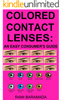 colored contact lenses an easy consumers guide - Color Contacts Amazon