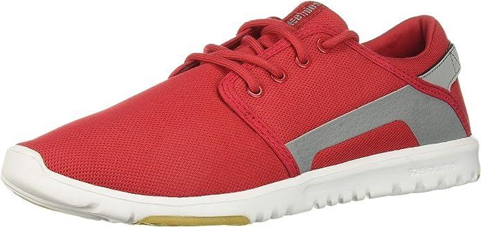 Etnies Scout Sneakers Herren Rot/Grau (Red/Grey)