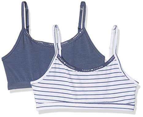 25fdad4e9bf7f9 Tommy Hilfiger Girl s Bustier  Amazon.co.uk  Clothing