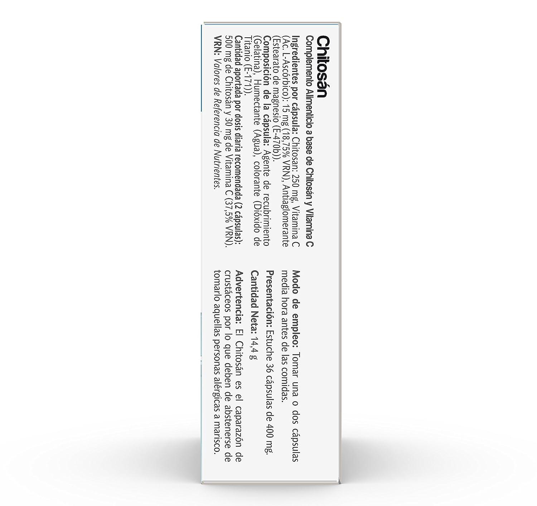 VIVE+ SALUDYVIDA chitosán caja 30 cápsulas: Amazon.es: Alimentación y bebidas