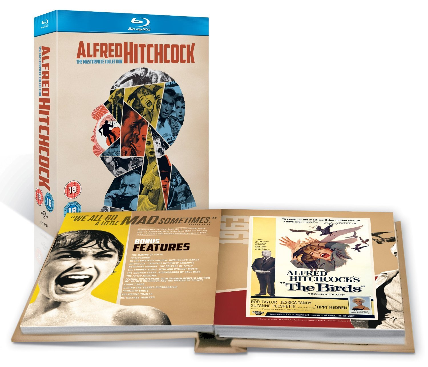 alfred hitchcock the masterpiece collection blu ray 1942 region free