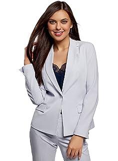 Abbigliamento Tailleur pantalone Jitong Donna Tailleur Pantalone Maniche Lunghe Cappotto Tuta Blazer Top 2 Pezzi Slim Fit Giacca e Pantaloni