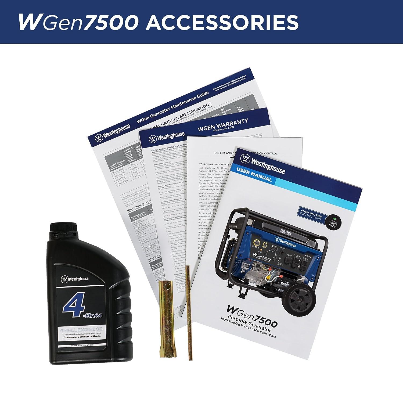 Wgen 7500 Camping Generator accessories