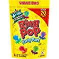 Ring Pop Individually Wrapped Bulk Lollipop Variety Party, Lollipop Suckers w/ Assorted Flavors Fun Candy for Birthdays and C
